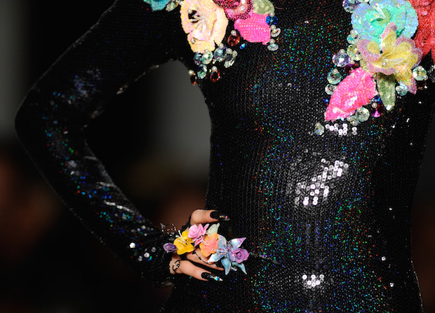 Top nails trends from New York Fashion Week NYFW Fall/Winter 2016 The Blonds