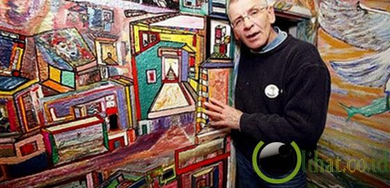 Tommy Mchugh - Jenius melukis dan membaca puisi