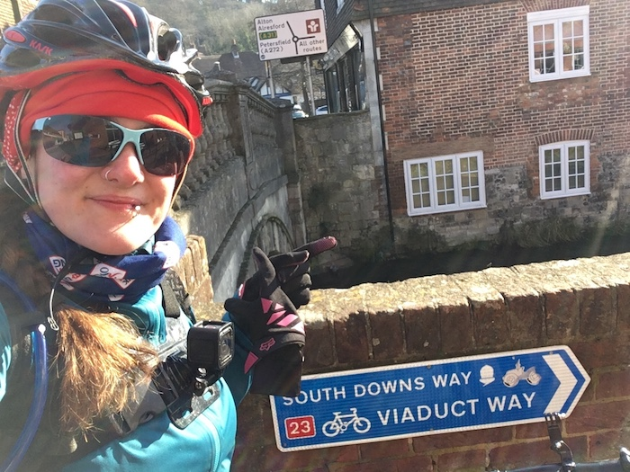 FitBits | South Downs Way Winchester to Petersfield - Tess Agnew fitness blogger