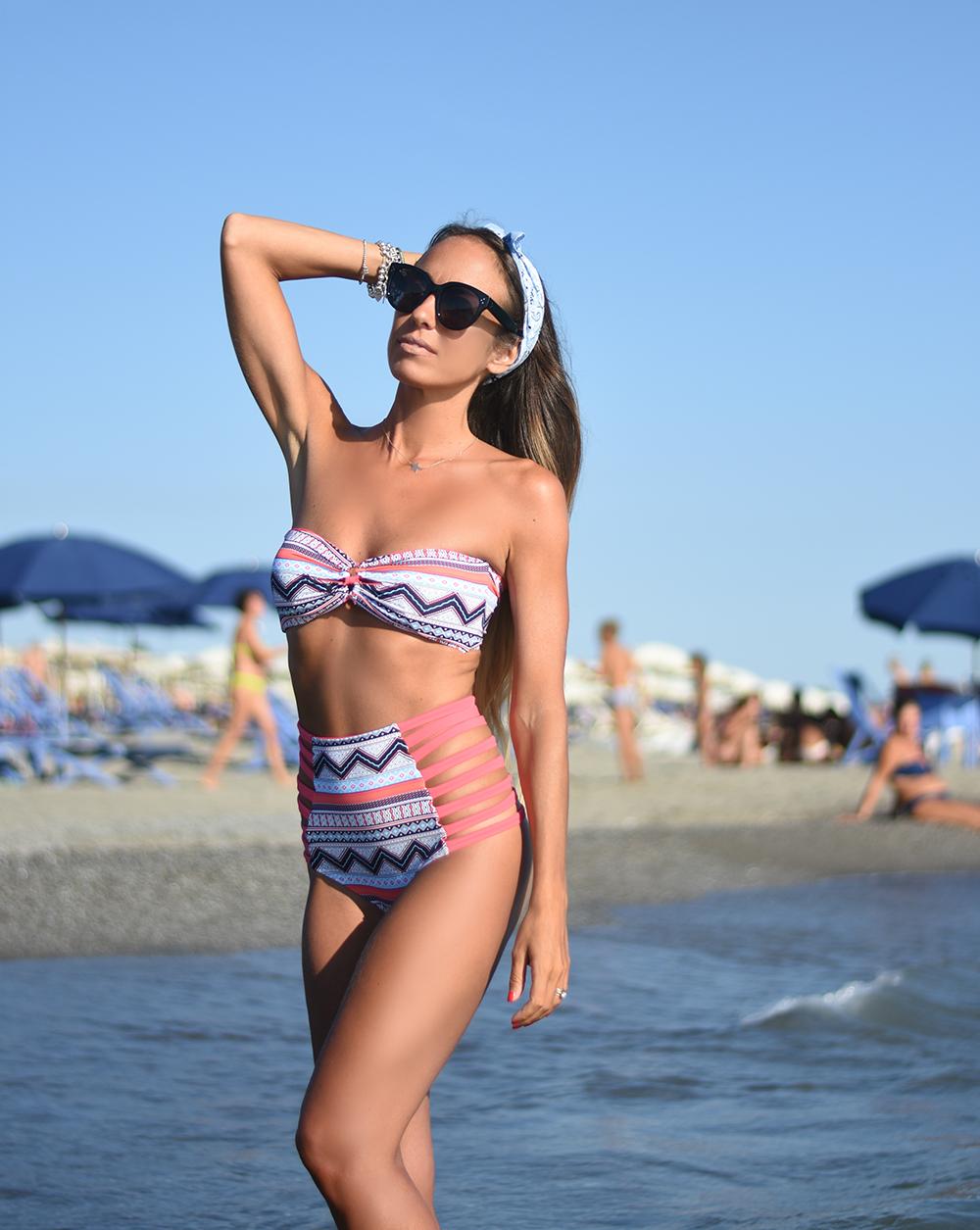 bikini stampa etnica