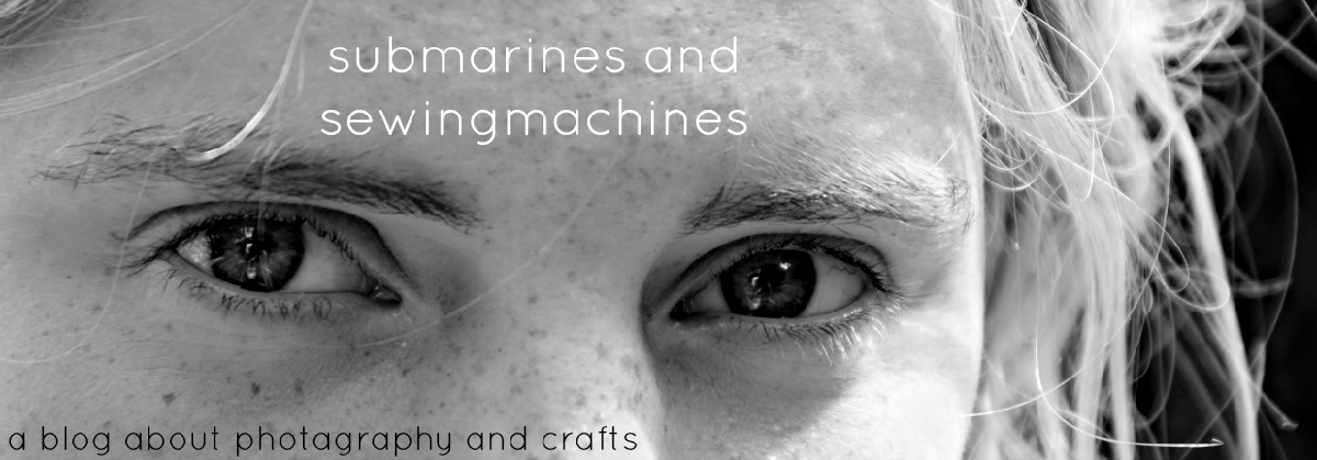 submarines and sewingmachines