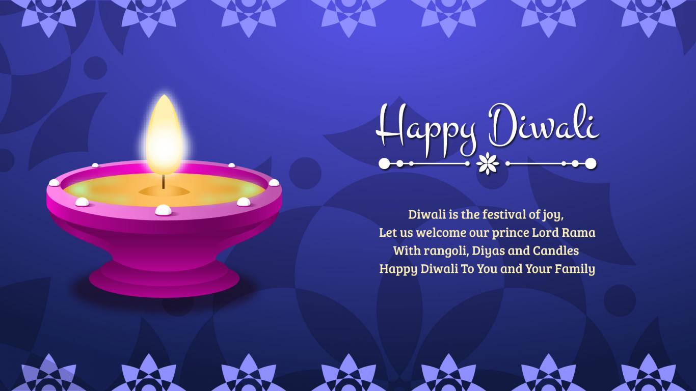 Happy Diwali Greetings with Wishes