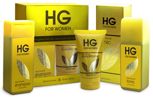 HG Shampoo dan HG Hair Tonic for Women