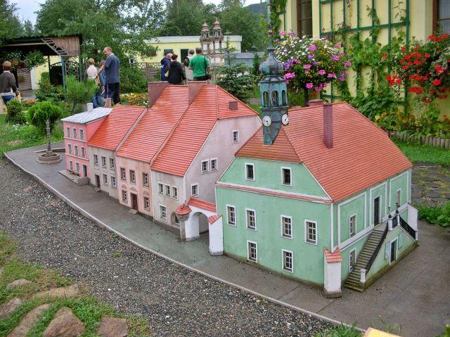 miasto Kargula i Pawlaka, park miniatur