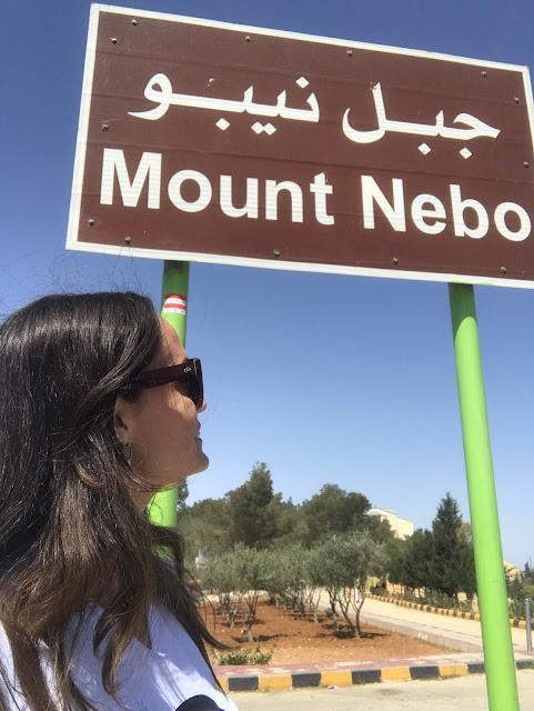 Moisés, Monte Nebo