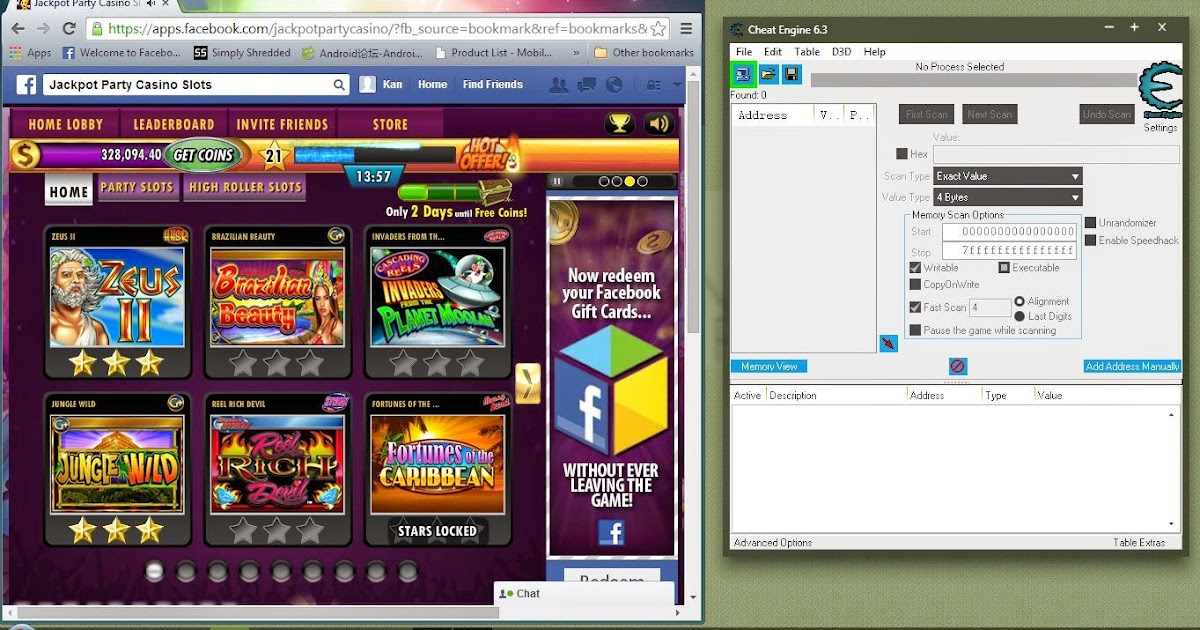 Cheat Engine Online Casino