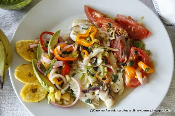 Caro's Special Tilapia with Vegetables