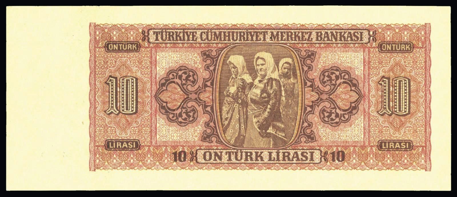Turkish money pictures 10 Turkish Lira banknote