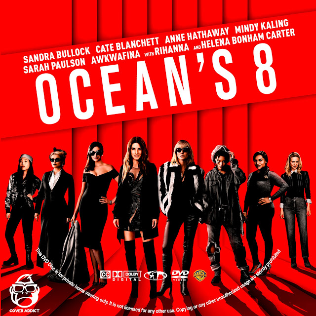Ocean's Eight DVD