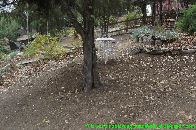 El jard n de la alegr a proyecto de una terracita en zona del jard n con pendiente - El jardin del deseo pendientes ...