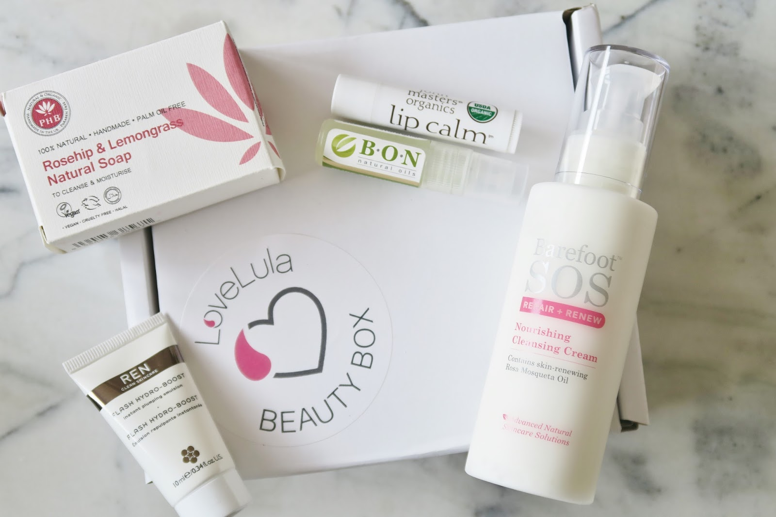 Love Lula Beauty Box October 2016 Natural & organic beauty subscription box