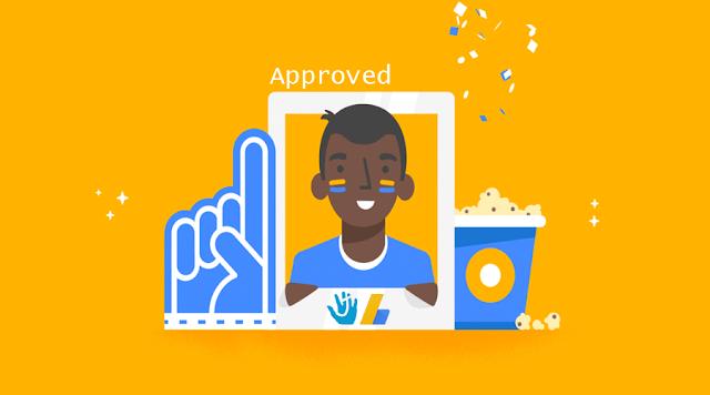 Ikuti cara ini, Jika kalian ingin diterima sepenuhnya oleh Adsense.
