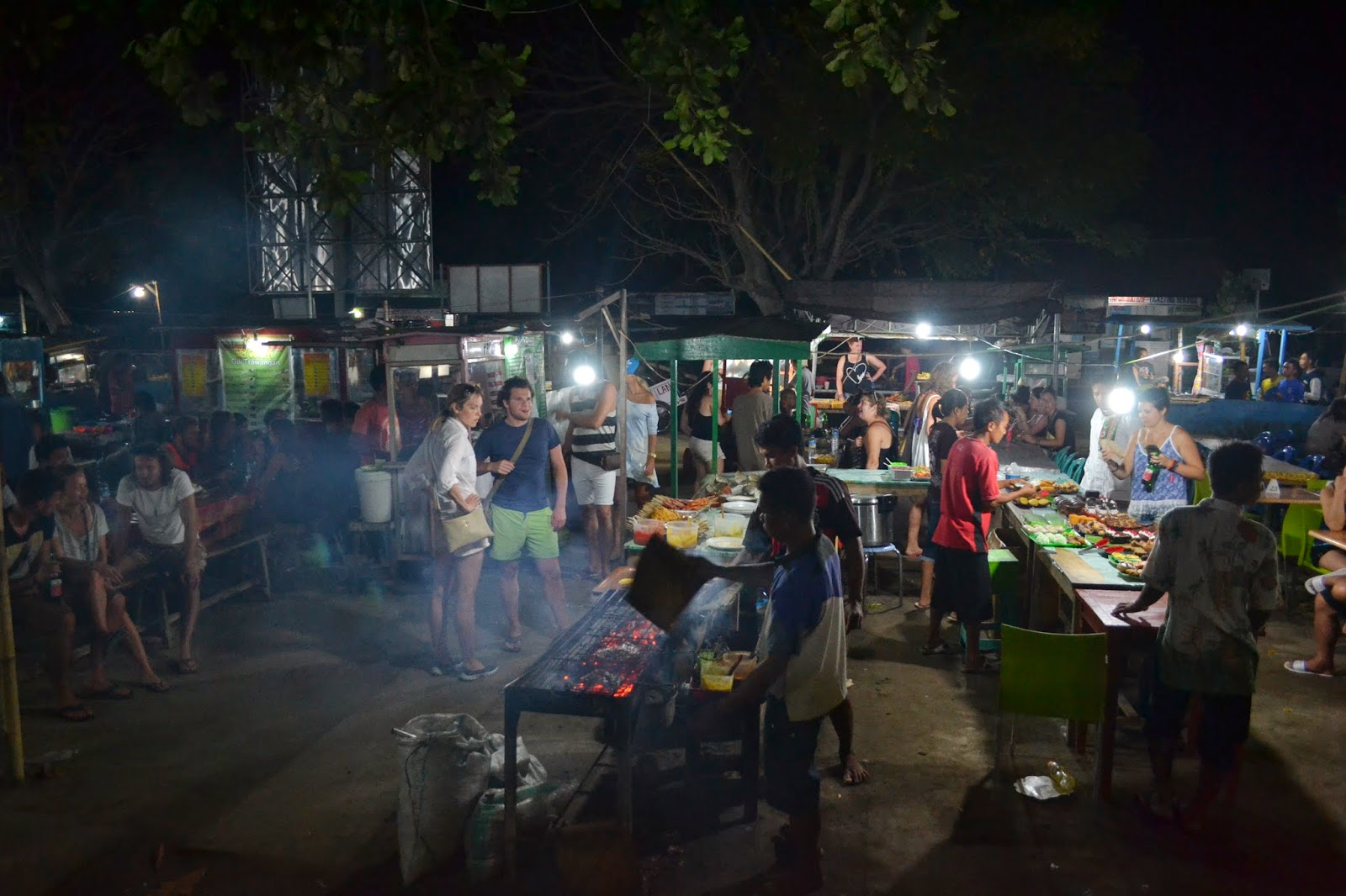 Mercado local ramadán Gili Trawangan