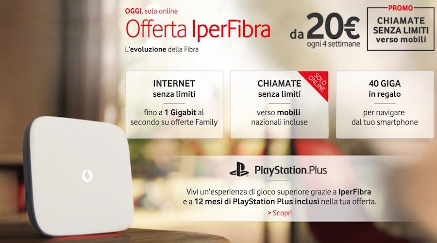 Canzone Pubblicità Vodafone Fibra a 20€ 2017 Novembre/Ottobre