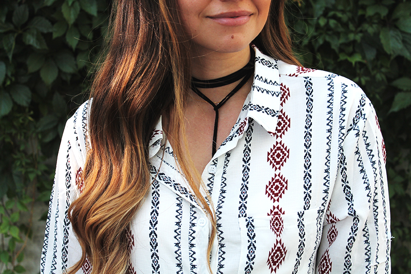 choker necklace, wrap necklace, utah blogger with influence