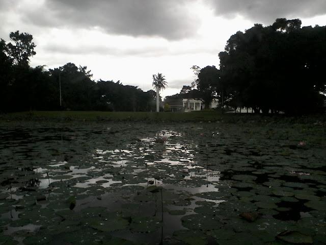 Memotret Istana Bogor dari Tepi Danau Kebun Raya Bogor