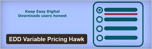 EDD variable pricing hawk plugin