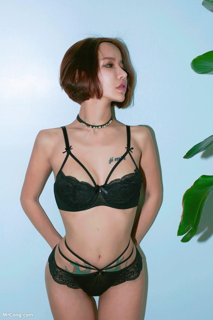 Image Korean-Model-Hwang-Barbie-MrCong.com-001 in post Người đẹp Hwang Barbie trong bộ ảnh nội y, bikini tháng 10/2017 (238 ảnh)