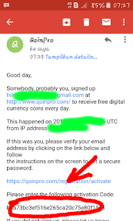Cara Daftar dan Mendapatkan Bitcoin Gratis dari QoinPro