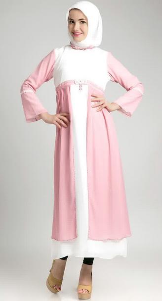 Trend Contoh Model Baju Dress Muslimah