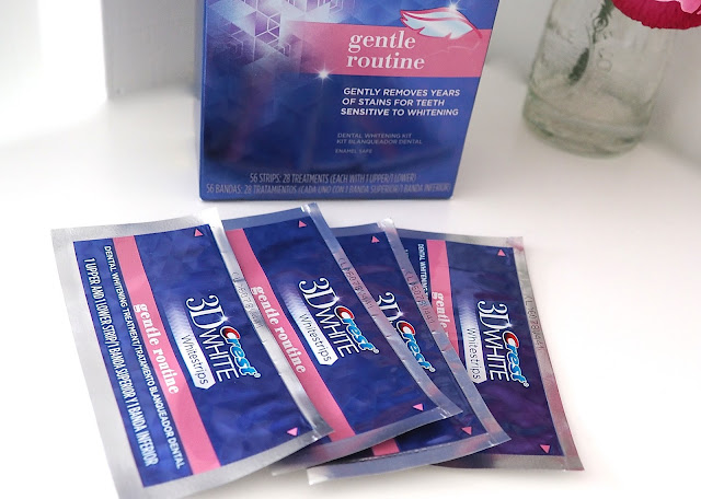 A picture of the Crest 3D Whitestrips Gentle Routine Teeth Whitening Kit
