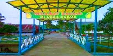 Desa Wisata Bokor meranti riau