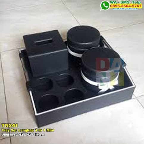 Tray Set Lengkap 4 In 1 Mini