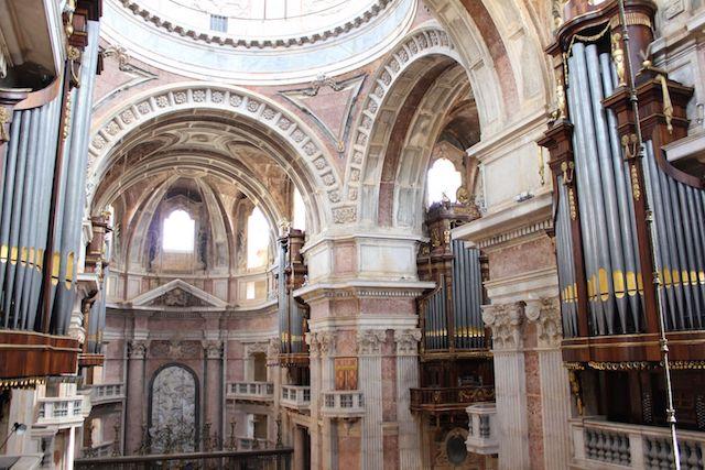 Órgãos da Basílica de Mafra