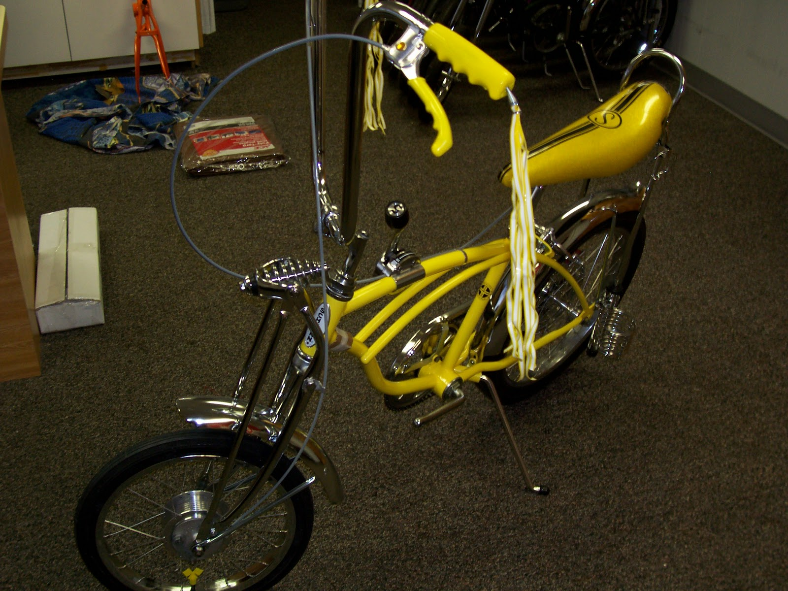 c2cd85f9da3 the raleigh chopper blog steve: 1970 SCHWINN LEMON PEELER