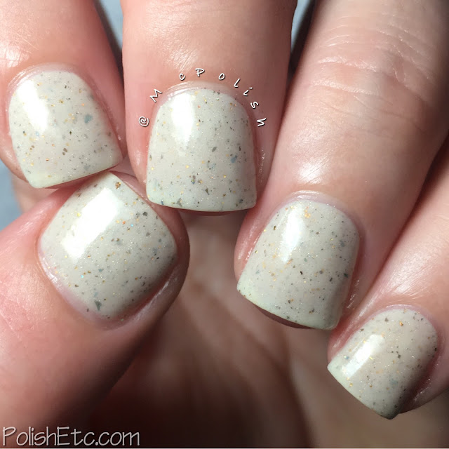 Random Nails of the Day - McPolish - Sparks by Contrary Polish