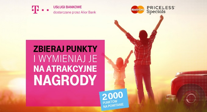 T Mobile Uslugi Bankowe 2000 Lub 1000 Pkt W Mastercard Priceless