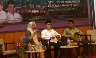 Anna Muawanah Sampaikan Bahwa IPNU-IPPNU Harus Menjadi Kader Terbaik Bangsa