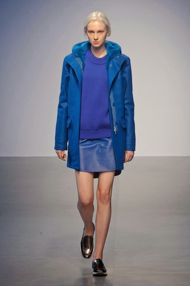 Richard Nicoll Autumn Winter 2014 LFW catwalk show