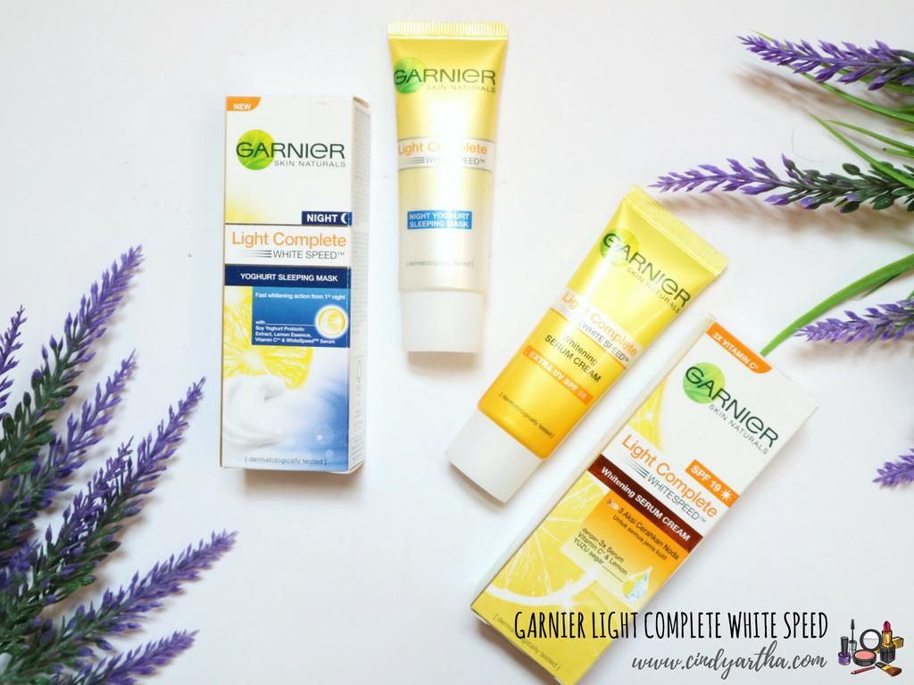 Daily Skincare Lokal Untuk Mencerahkan Wajah Garnier Light Complete White Speed Duocerahcepat Beauty Lifestyle Journals