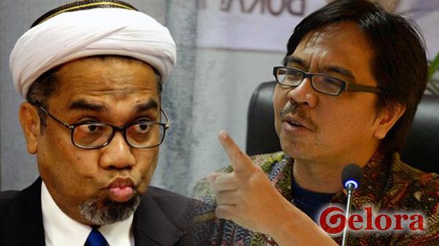 Ade Armando Ingatkan Jokowi Bahaya Mulut Ngabalin di Istana