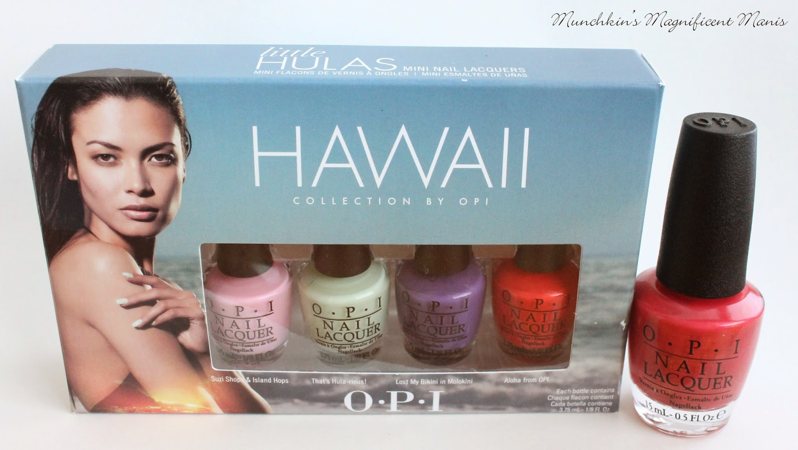 OPI Hawaii Collection, 2015 Spring collection
