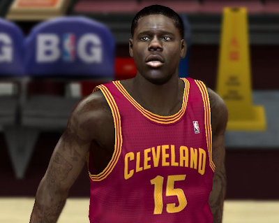 NBA 2K14 Anthony Bennett Cyberface Mod