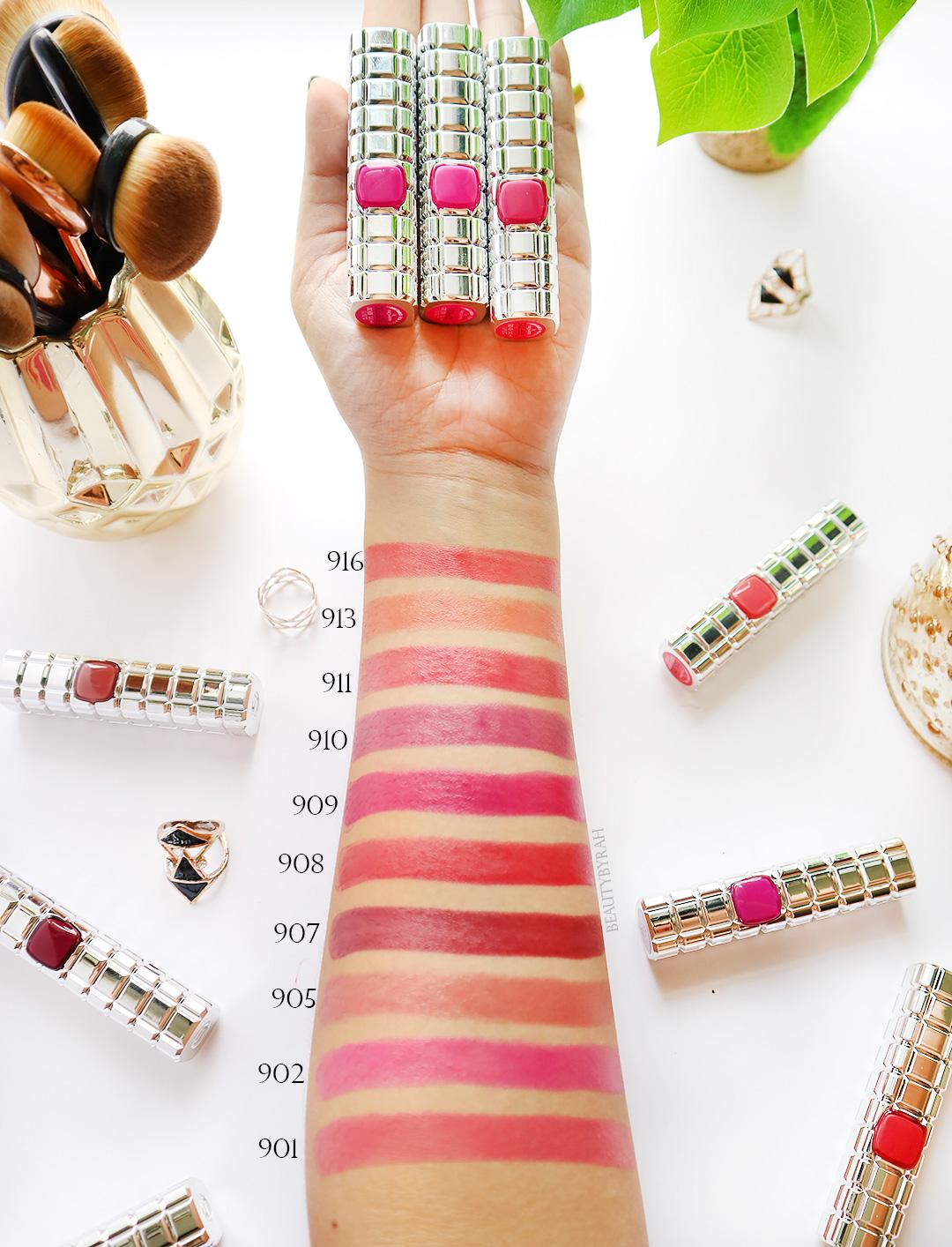 L'Oreal Color Riche Shine Lipsticks Swatches Singapore