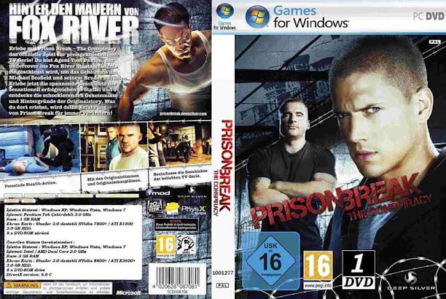 تنزيل لعبة Prison Break The Conspiracy  كاملة بحجم 980 ميجا فقط وبرابط واحد مباشر