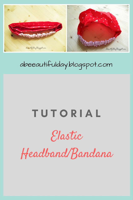 Elastic Headband/Bandana-abeeautifulday.blogspot.com