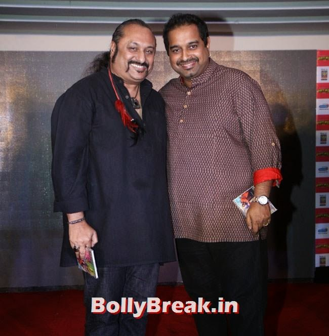 Lesle Lewis and Shankar Mahadeva, Marathi Actress Pics from Poshter Boyz 2014 Marathi Movie Music Launch