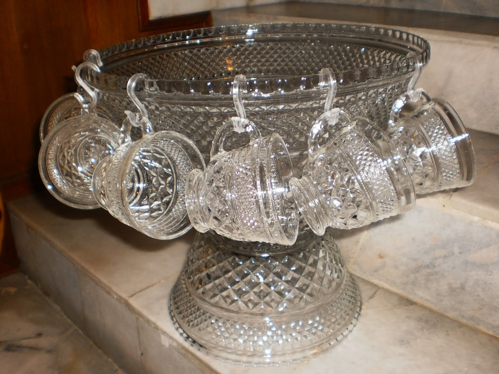 Bonnie S Collection Wexford Punch Bowl Set