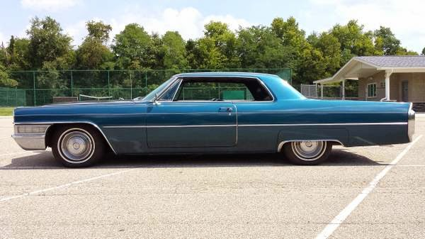 1965 Cadillac Coupe Deville Auto Restorationice