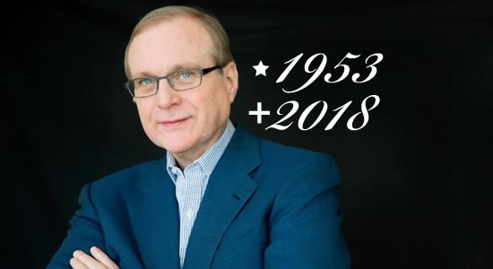 Co-fundador da Microsoft, Paul Allen morre aos 65 anos.