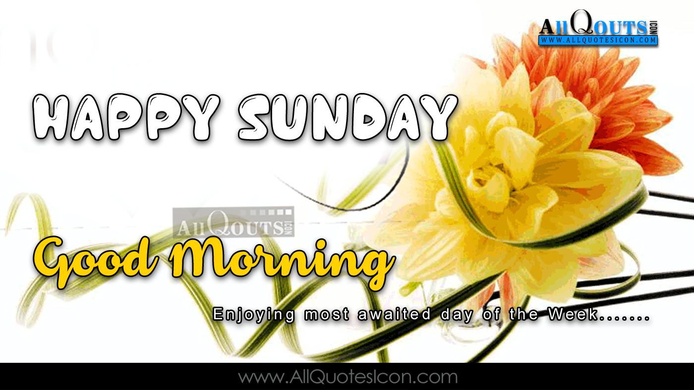happy sunday quotes and sayings wallpapers good morning