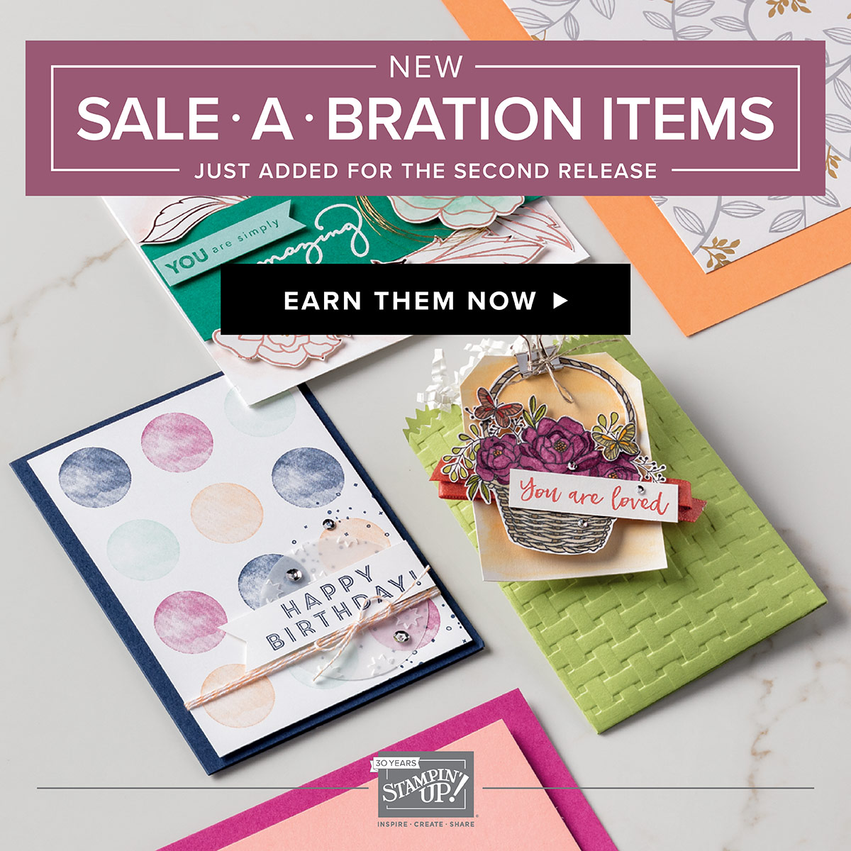 Sale-a-Bration Brochure 2018 2nd release
