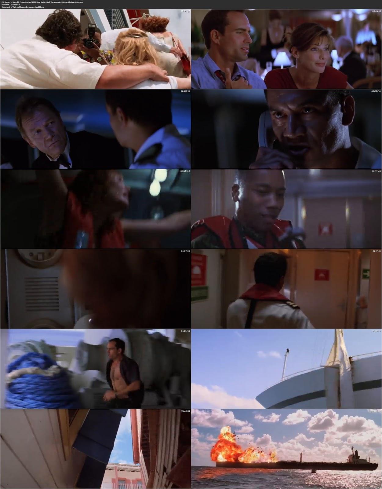 Speed 2 Cruise Control 1997 Hindi Dubbed 300MB BluRay 480p