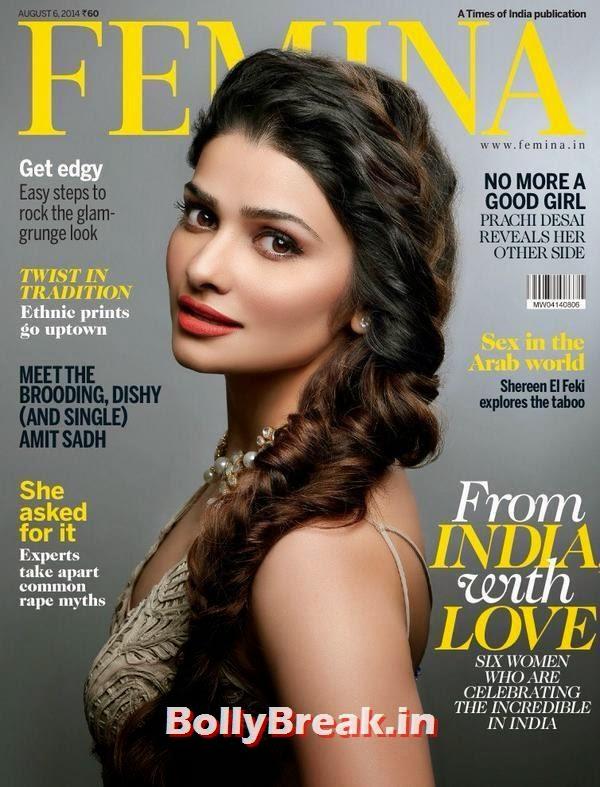 Prachi Desai, August 2014 Indian Magazine Covers