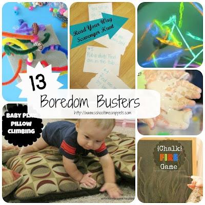fun boredom buster indoor activites