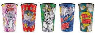 Promoção Bob's 2018 Copos Colecionáveis Tom & Jerry Fun e Art
